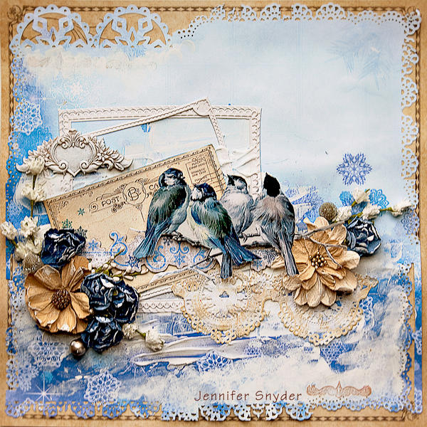 Little Winter Birds - Scraps Of Elegance