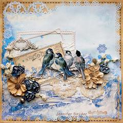 Little Winter Birds - Scraps Of Elegance