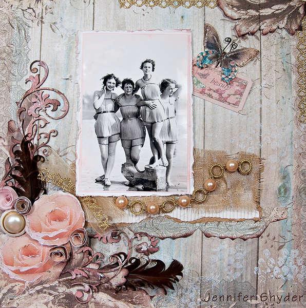 Spruce Girls #2 - Scraps Of Elegance Blog Hop