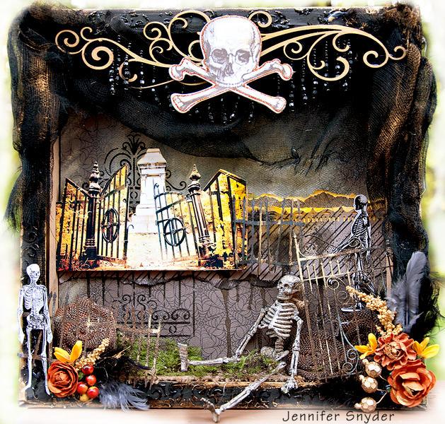 Halloween Graveyard - Scraps Of Darkness