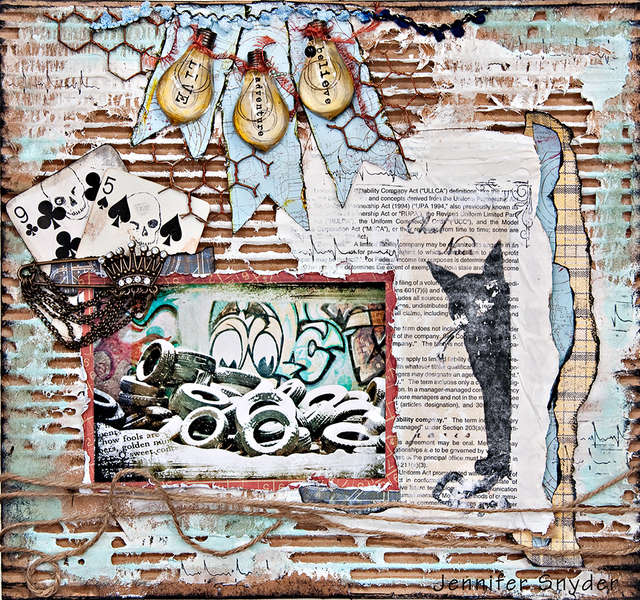 King of the Alley Cats - Scraps of Darkness Sept kit