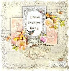 Dream Imagine Love - Flying Unicorns