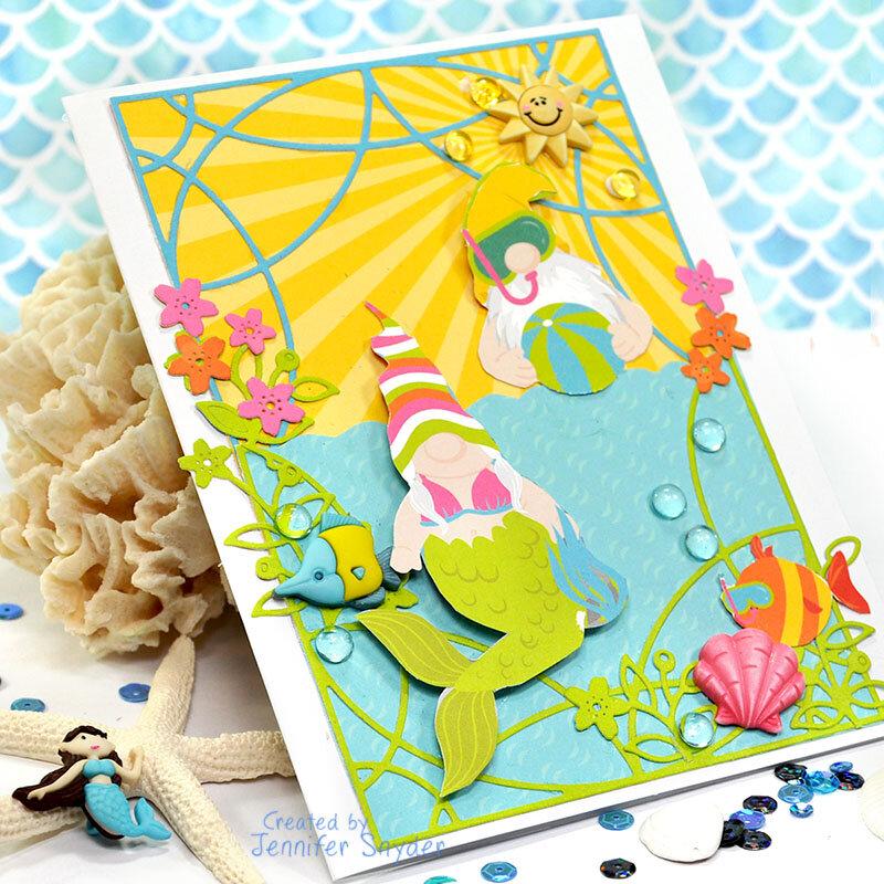 Summer Gnomes Card