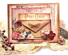 Card with mini envelope
