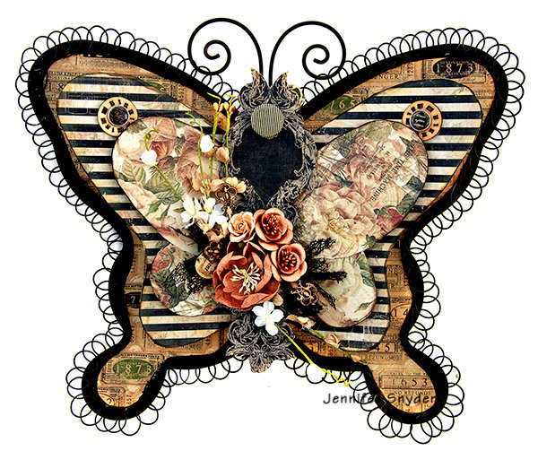 Altered Metal Butterfly - Prima Marketing