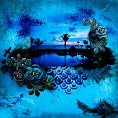 Evening In Paradise - FabScraps