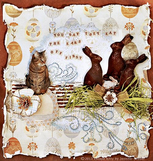 Escape Kitty - Easter Bunny - ZVA Creative