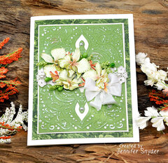 Exotic Flowers Card
