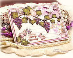 Grapevine Cheery Card