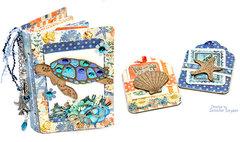 Sea Turtle Passbook mini-album