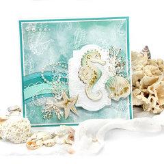 Seaside Seahorse Card