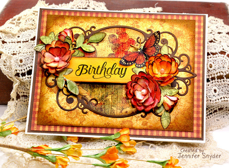 Vintage Flowers Birthday Cards ~ Vintage flowers card happy birthday holiday stock photo royalty