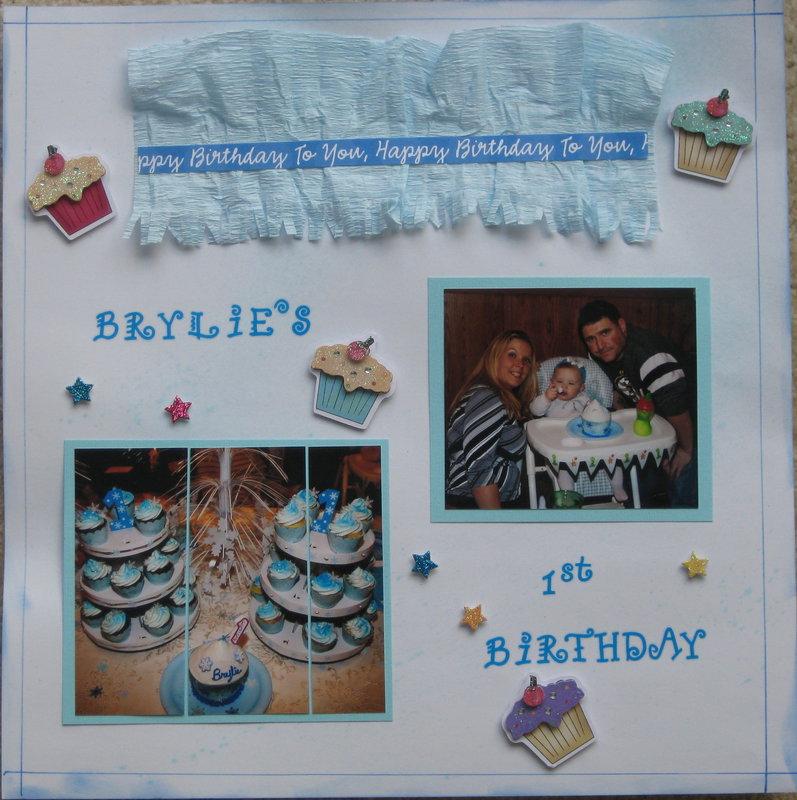Brylie's 1st Birthday