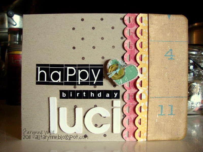 Happy Birthday Luci