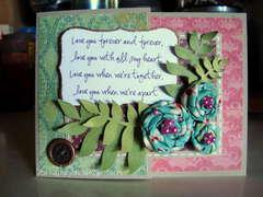 I will - Wedding Card