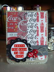 You're the coca to my cola