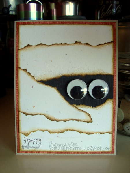 Happy Halloween - Mummy Card