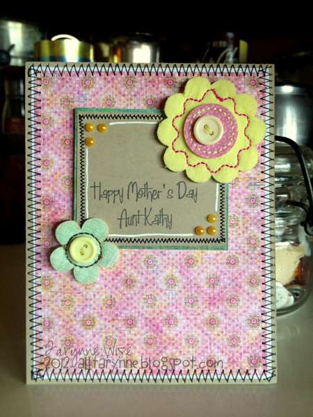 Happy Mother's Day Aunt Kathy