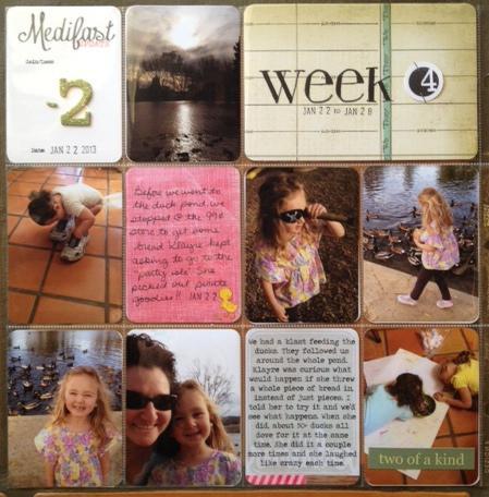 Project Life - Week 4 - Jan. 22-28