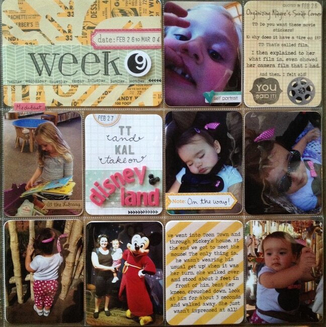 Project Life - Week 9 - Feb 26 to Mar 4