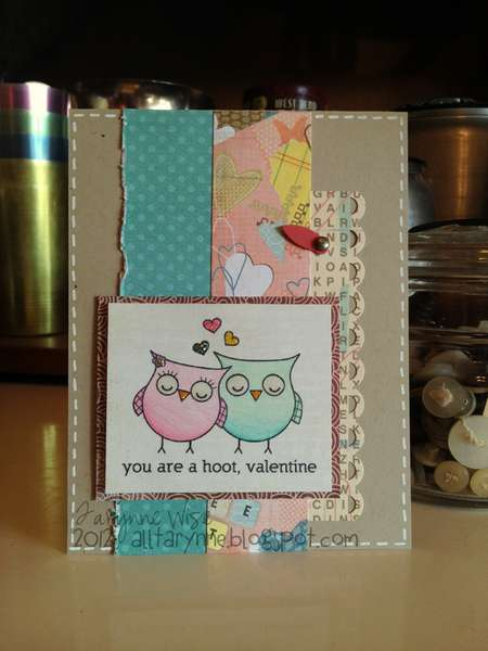 you are a hoot, valentine