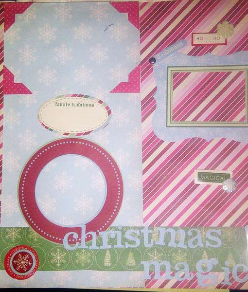Christmas Magic - 2 Page Layout
