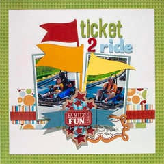 """Animal Crackers """"Ticket 2 Ride"""" Layout"""