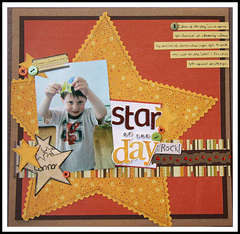 Star of the Day by Cindy Stevens