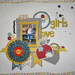 Girls Love Handbags by Ro Philippsen