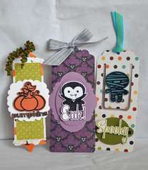 Halloween Bookmarks by Guiseppa Gubler