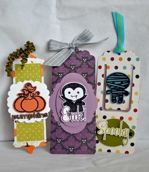 Halloween Bookmarks by Guiseppa Gubler