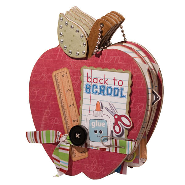 Back to School Mini Album school Using Imaginisce Geek is Chic Collection