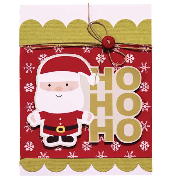 HO HO HO using Imaginisce Santa's Little Helper Collection
