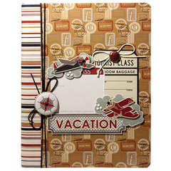 Travel Journal using Bon Voyage from Imaginisce
