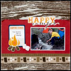 Happy Camper featuring Outdoor Adventure from Imaginisce