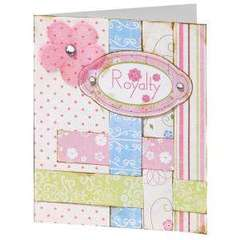 Royalty Baby Girl Card