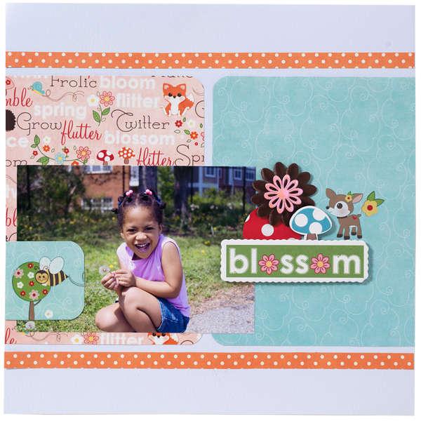 Blossom Layout 12x12 by Tiffany Tillman