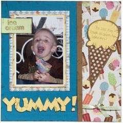 Yummy! 12x12 by Robyn Tucker