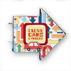 I love Cars & Trucks Mini Book