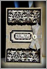 I Thee Wed Card by Cindy Stevens