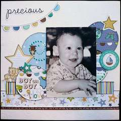 Little Cutie Precious Layout by Samantha Hauzer