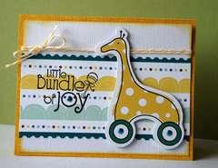 Little Cutie Bundle of Joy Card