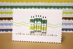 Little Cutie Celebrate Card by Sophia Allison