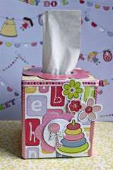Little Cutie Klenex Box by Lydia Jackson