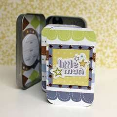 Little Cutie Little Man Mini Album by Robyn Schaub