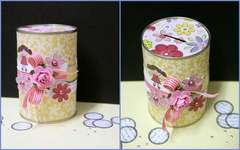 Little Cutie Money Tin by Sophia Allison