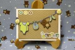 Little Cutie So Loved Card by Sophia Allison