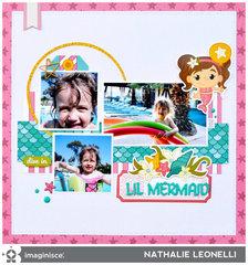 Lil Mermaid by Nathalie Leonelli