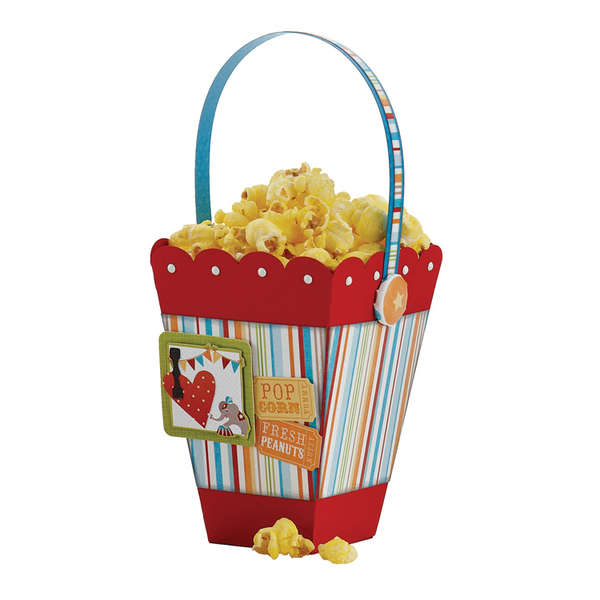 "Animal Crackers ""Popcorn Bucket"""