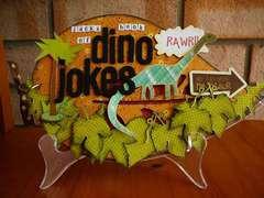 Dino Jokes by Sam Hauzer